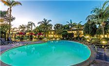 Ramada Santa Barbara Amenities - Evening Pool