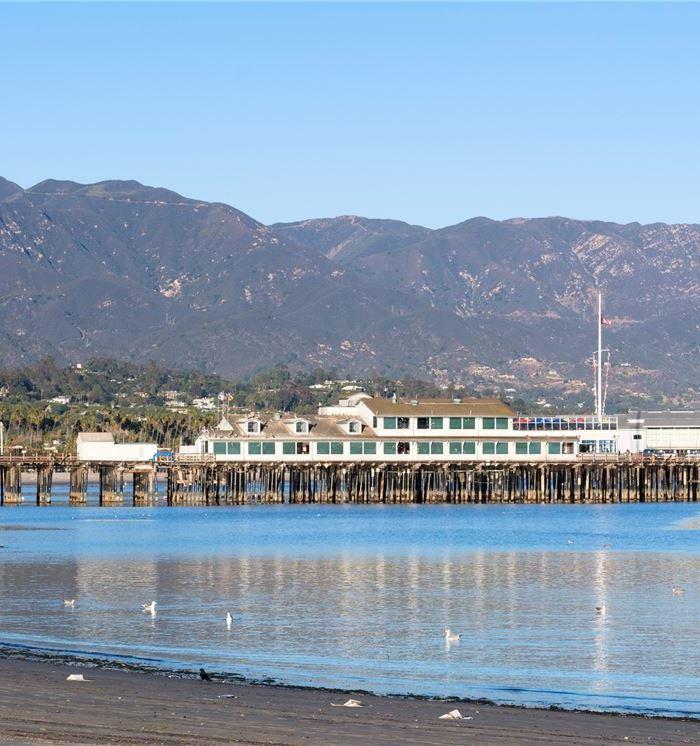 Stearns Wharf & Ty Warner Sea Center at California